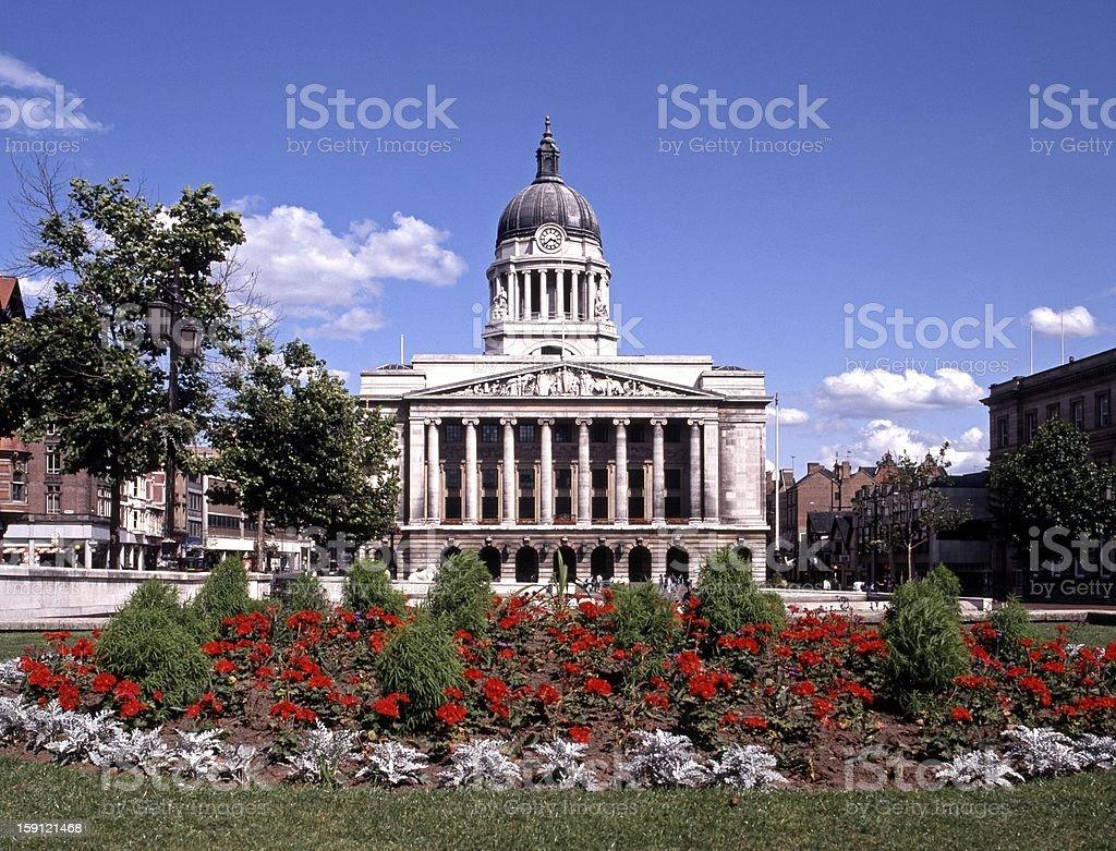 Council house, Nottingham, UK. stock photo