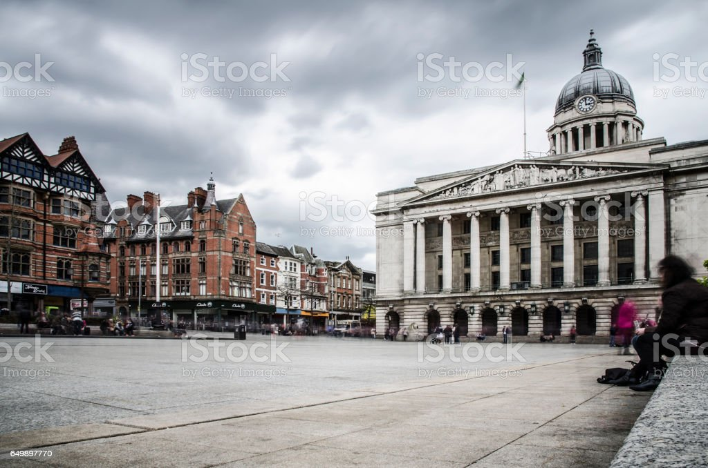 Council House, Old Market Square stock photo