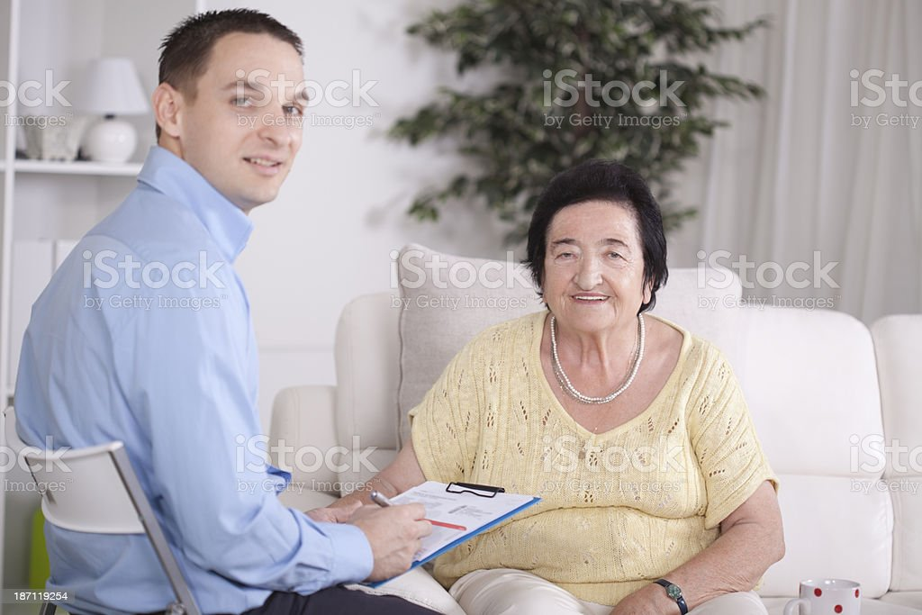 Counseling. royalty-free stock photo