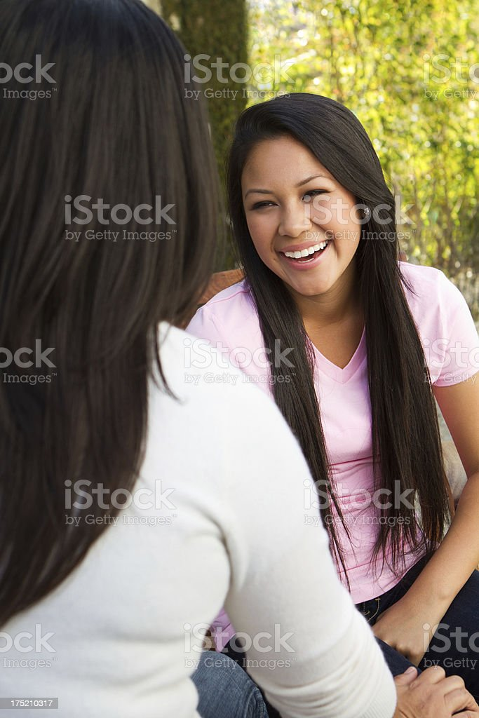 Counseling Teens stock photo