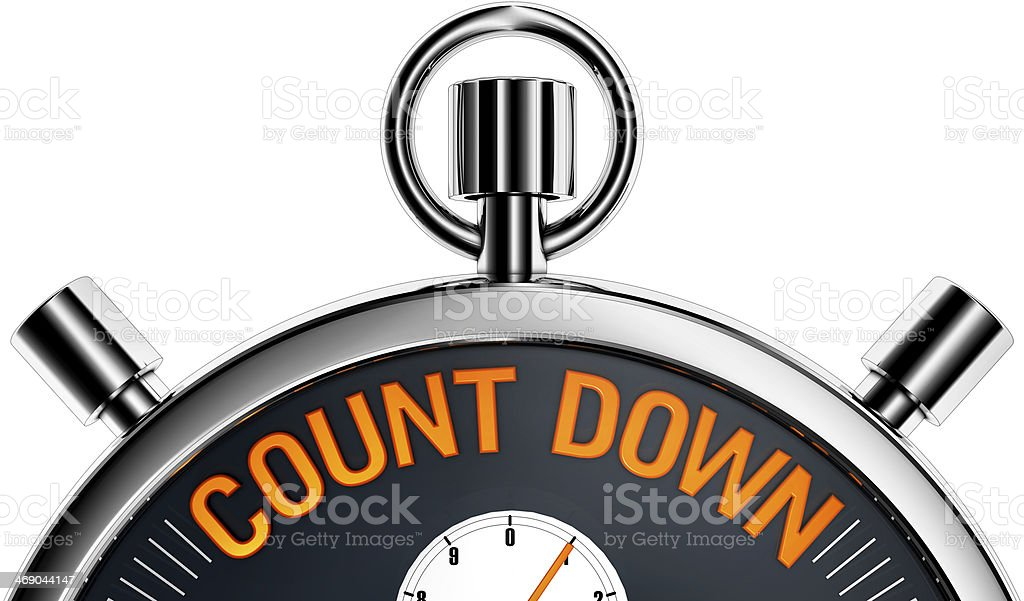 count down stock photo