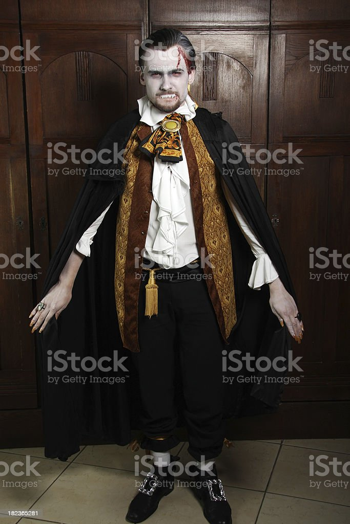 Count Dracula royalty-free stock photo