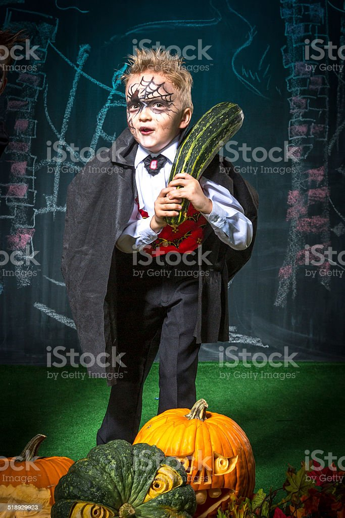 Count Dracula vegan stock photo
