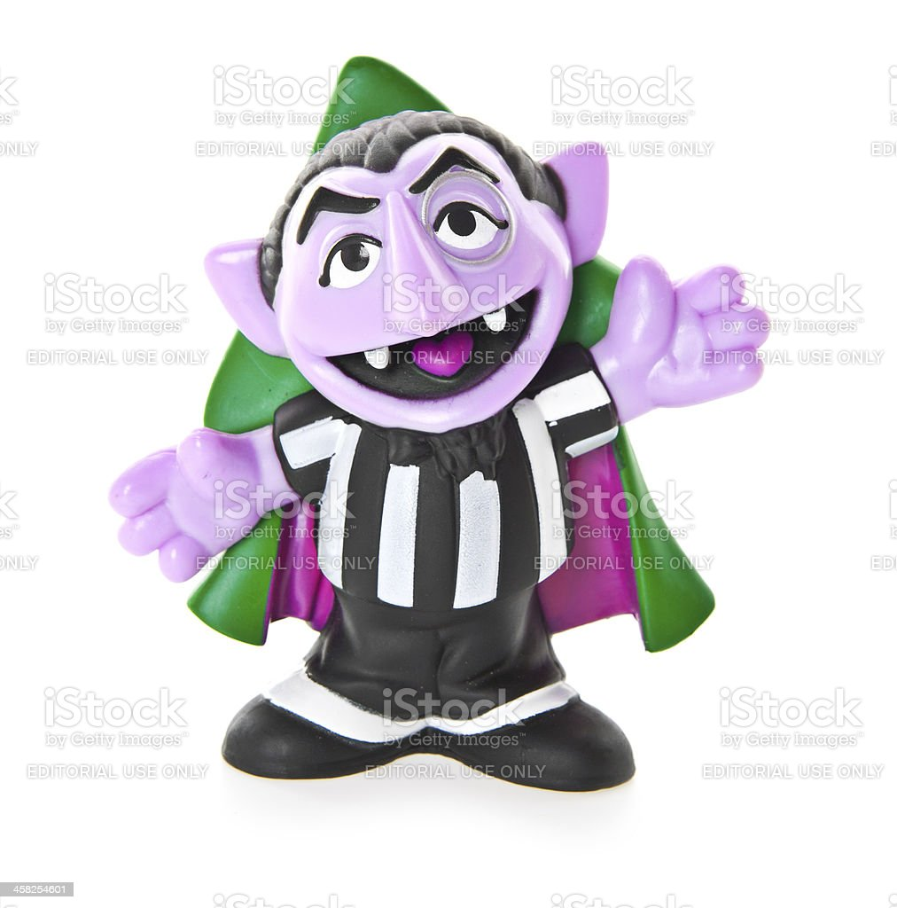 Count from Sesame Street stock photo