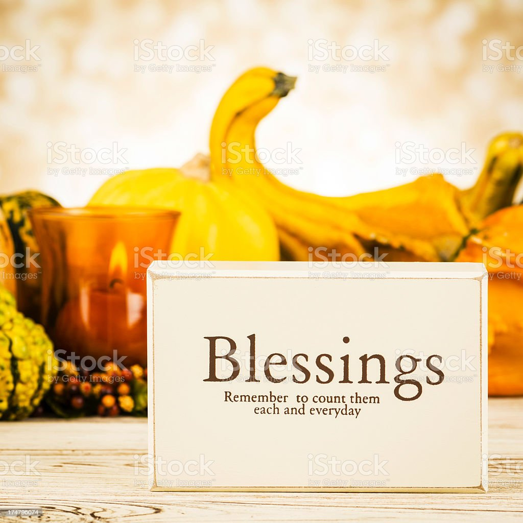 Count Your Blessings royalty-free stock photo