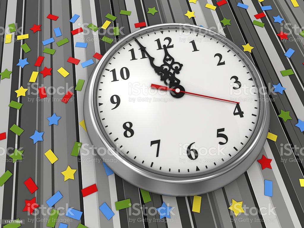 Countdown for celebration royalty-free stock photo
