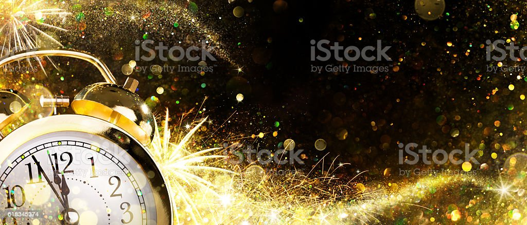 Countdown For New Year stock photo