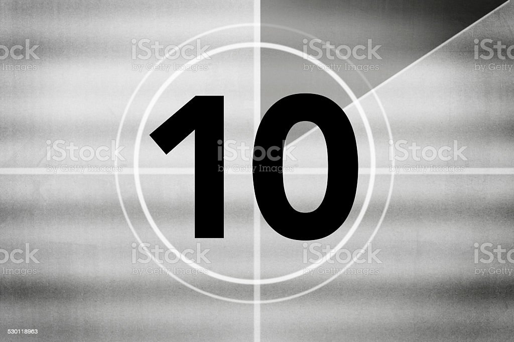 Countdown (Click for more) stock photo