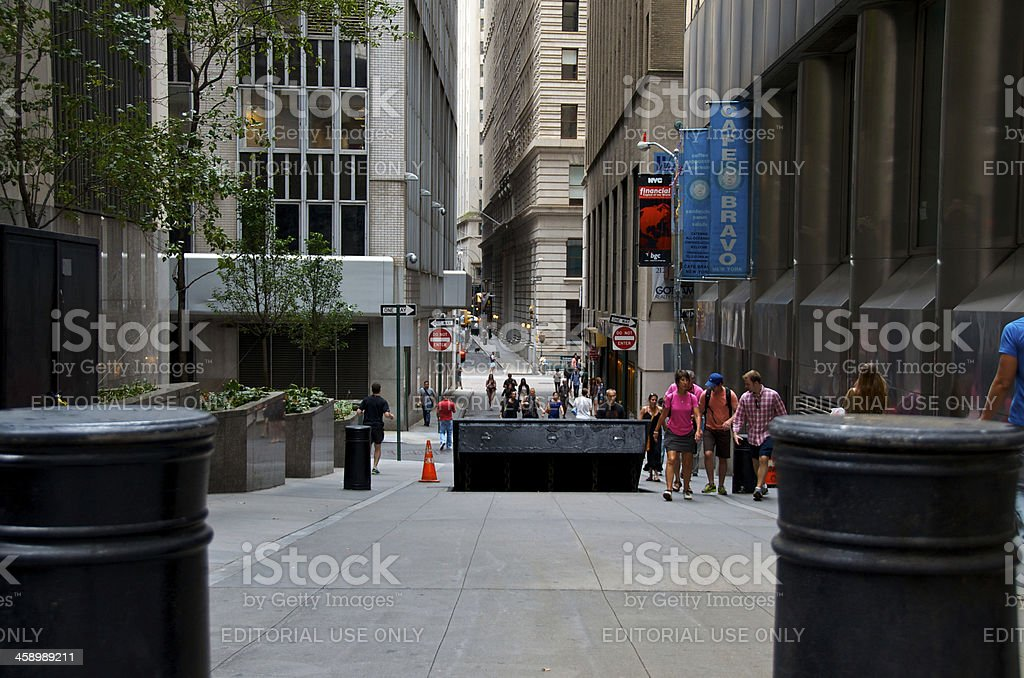 Counter Terror barrier royalty-free stock photo