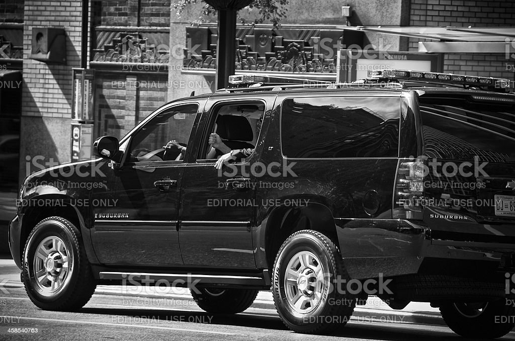 Counter Terror Security Officers during United Nations Assembly events, NYC royalty-free stock photo