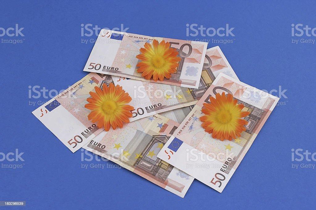 Counterfeit money Euro stock photo
