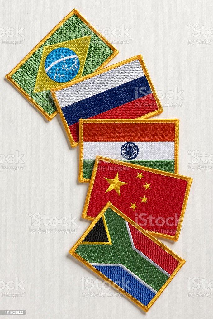 BRICS countries. royalty-free stock photo