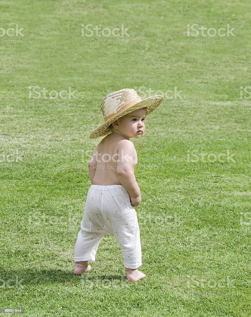 country baby royalty-free stock photo