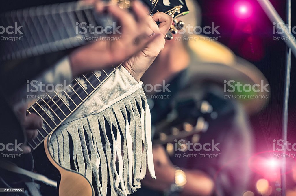 country band stock photo