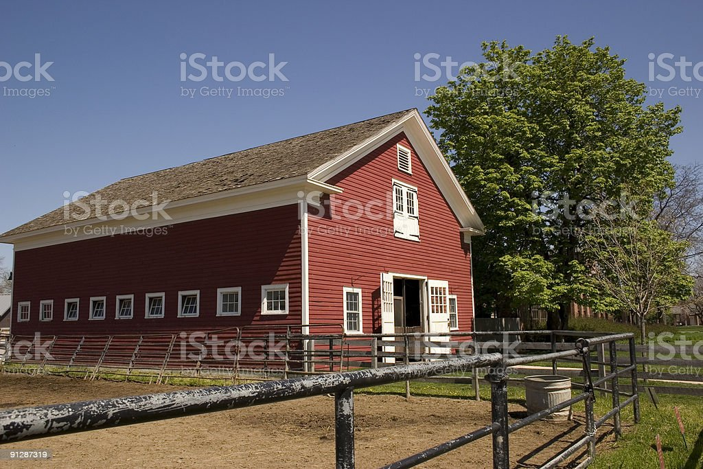 Country Barn royalty-free stock photo