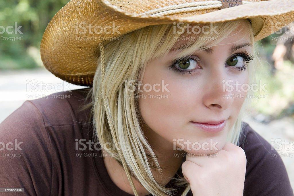 Country Beauty royalty-free stock photo