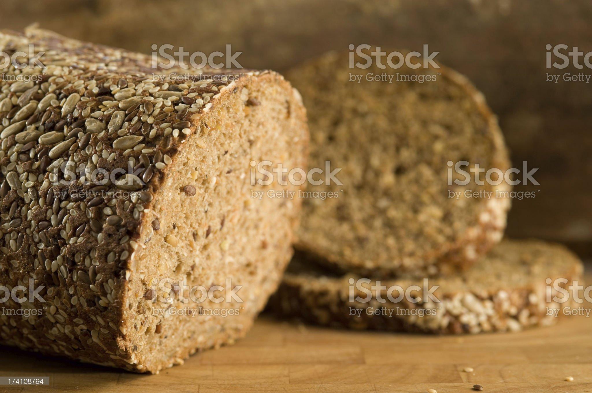 Country Bread,  Eiweissbrot, Vollkornbrot royalty-free stock photo