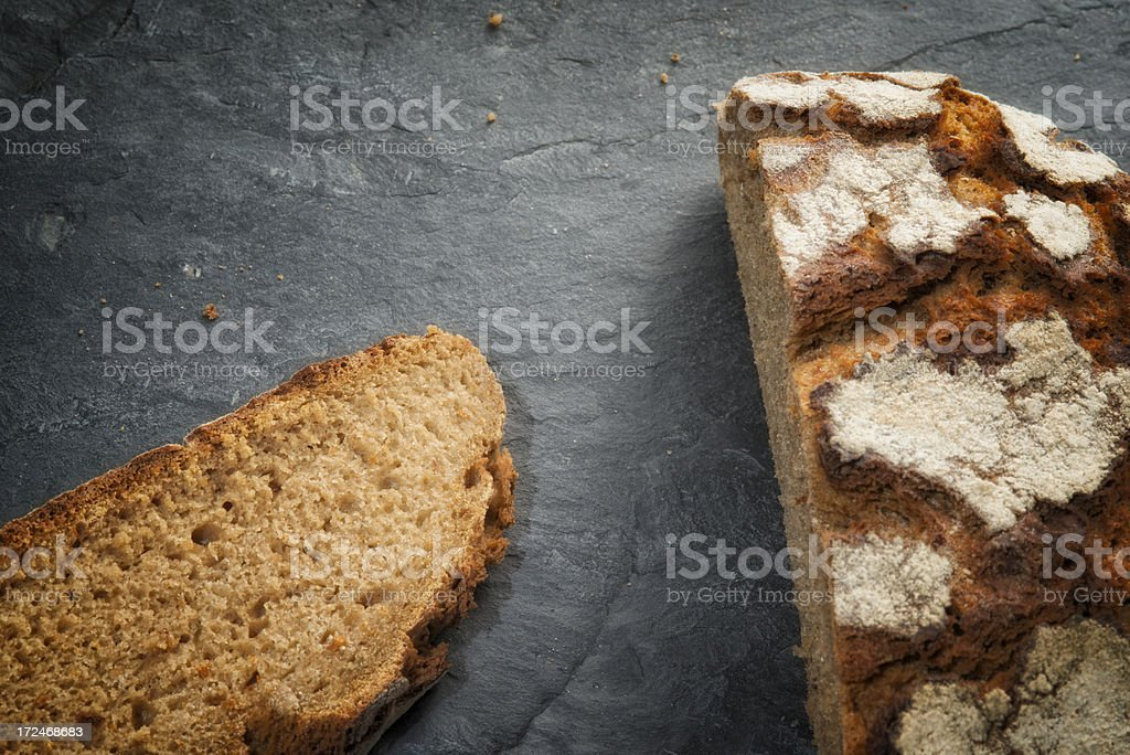 Country Bread, Bauernbrot, Vollkornbrot royalty-free stock photo