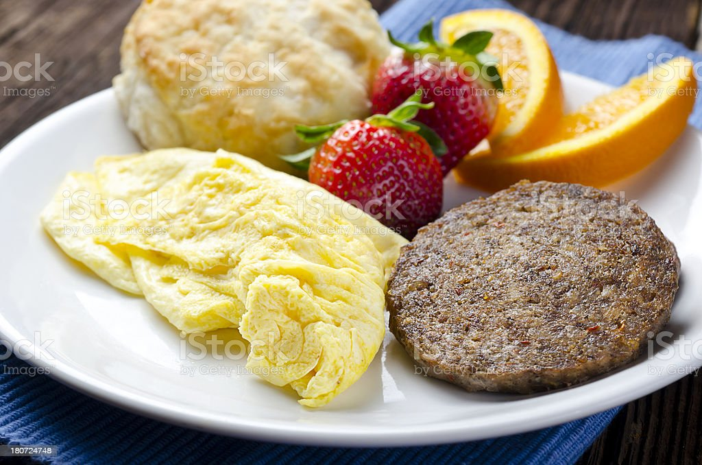 Country Breakfast royalty-free stock photo