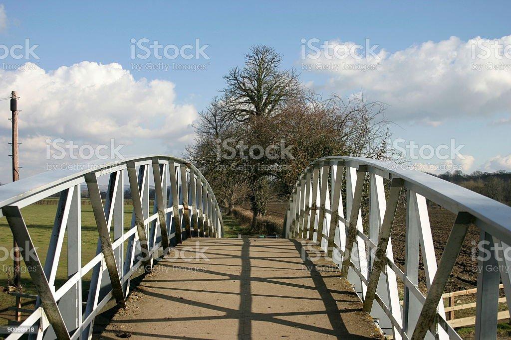 Country Bridge royalty-free stock photo
