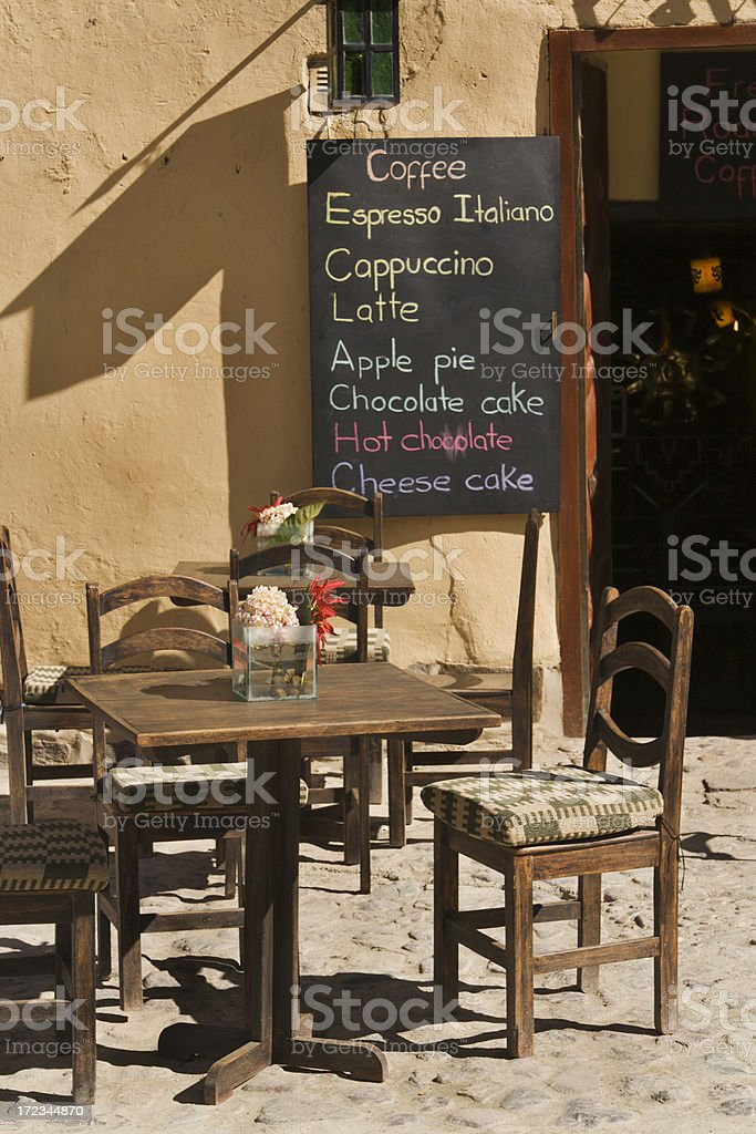 Country Cafe royalty-free stock photo