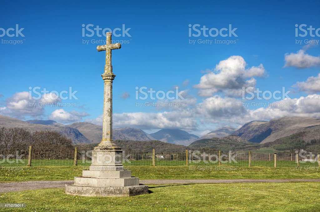 Country Cenotaph royalty-free stock photo
