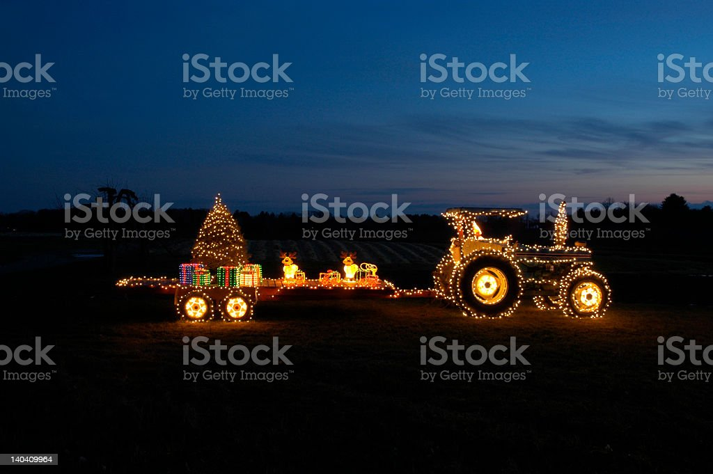 Country Christmas stock photo