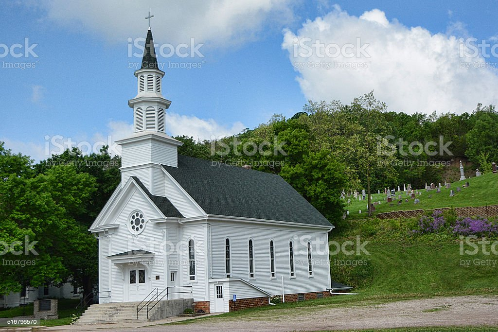 Image result for country church and graveyard