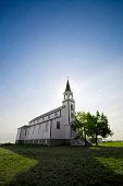 Country Church In Saskatchewan