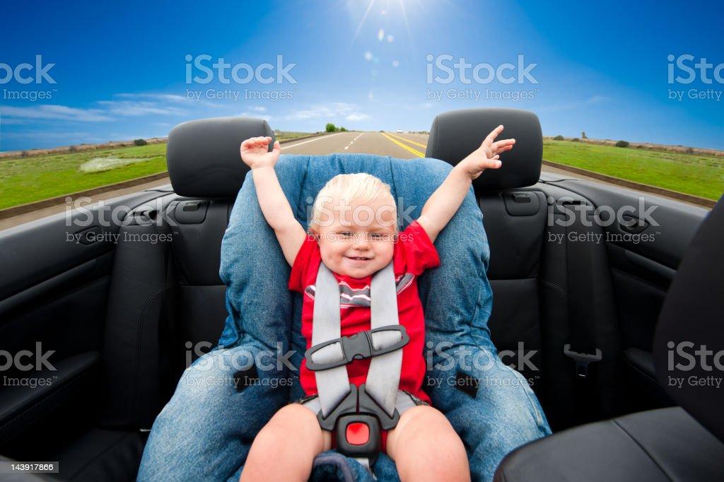 Country Cruising stock photo