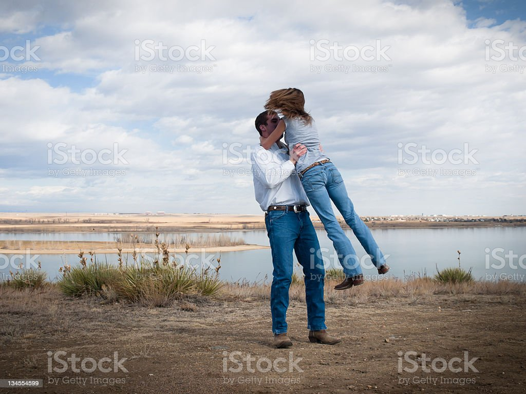 Country Dancing stock photo