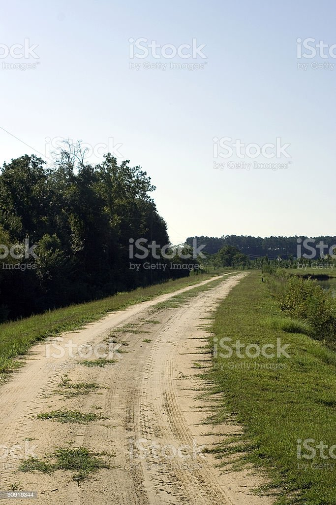 Country Dirt Road I royalty-free stock photo