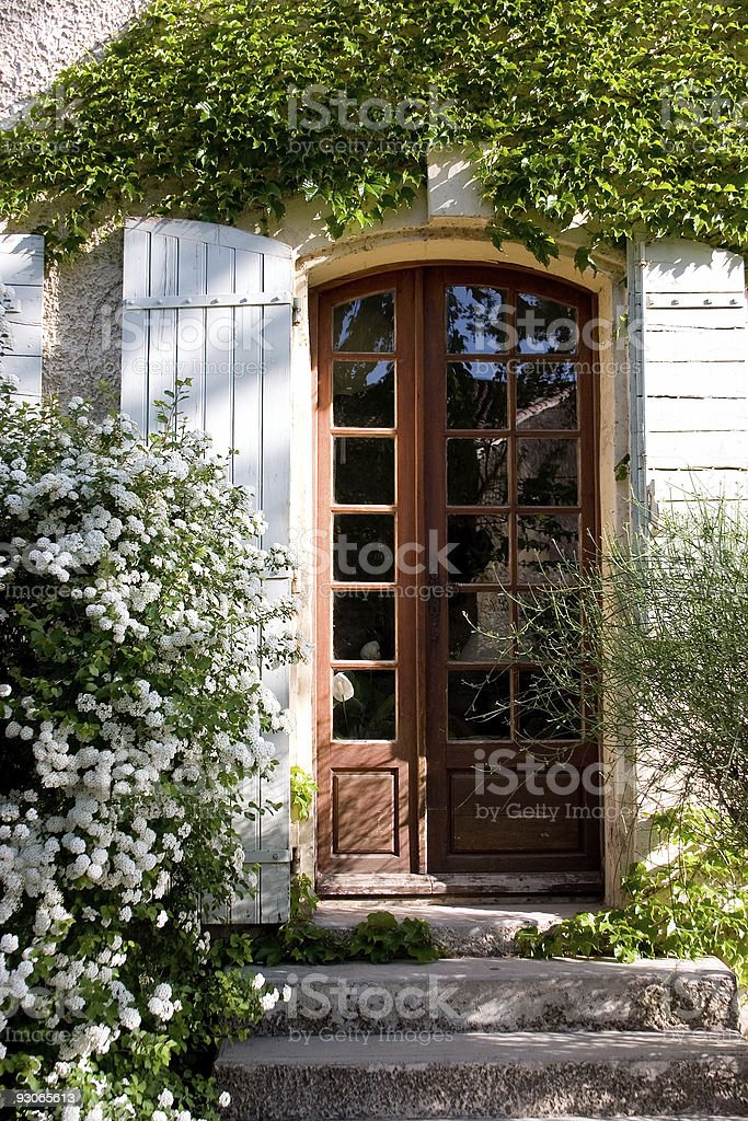 Country door royalty-free stock photo