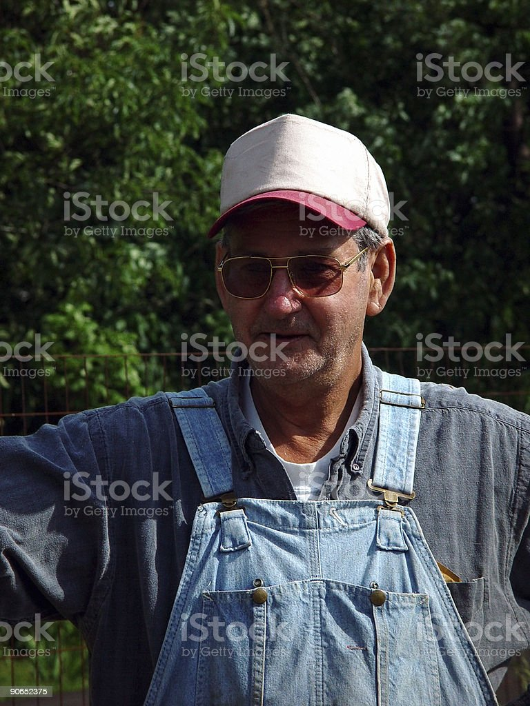 Country Farmer stock photo