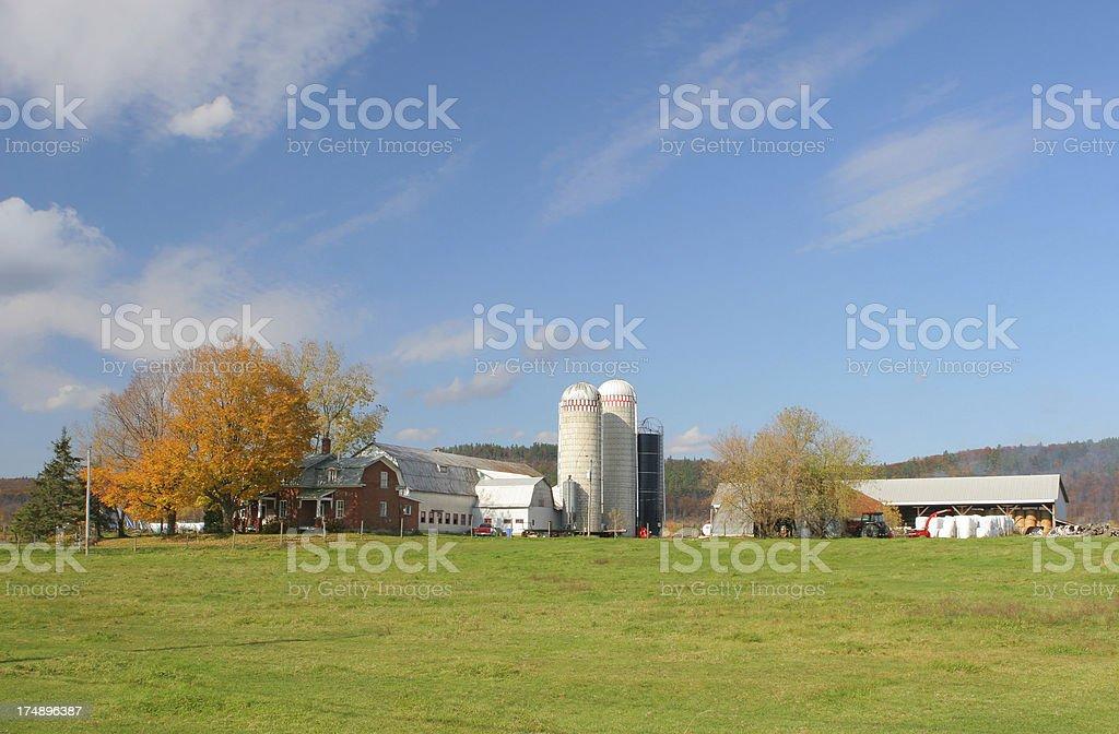 Country Farmhouse royalty-free stock photo