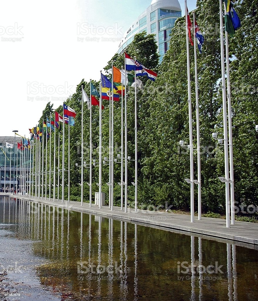 Country Flags stock photo