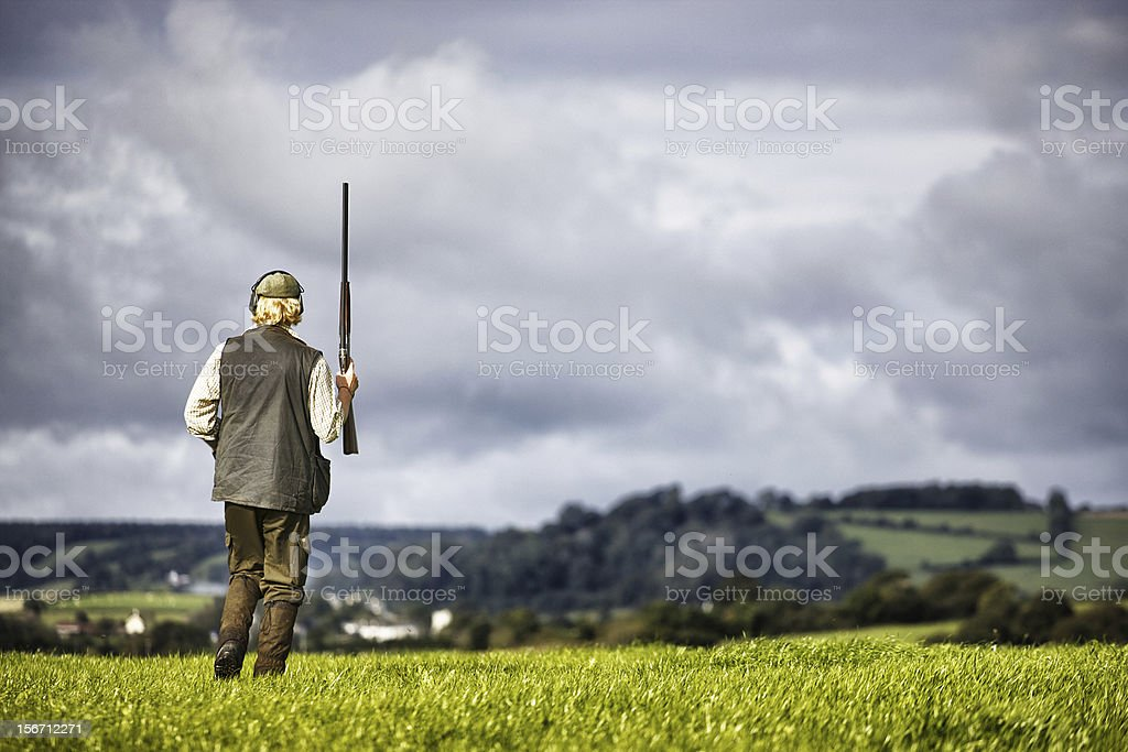 Country gentleman stock photo