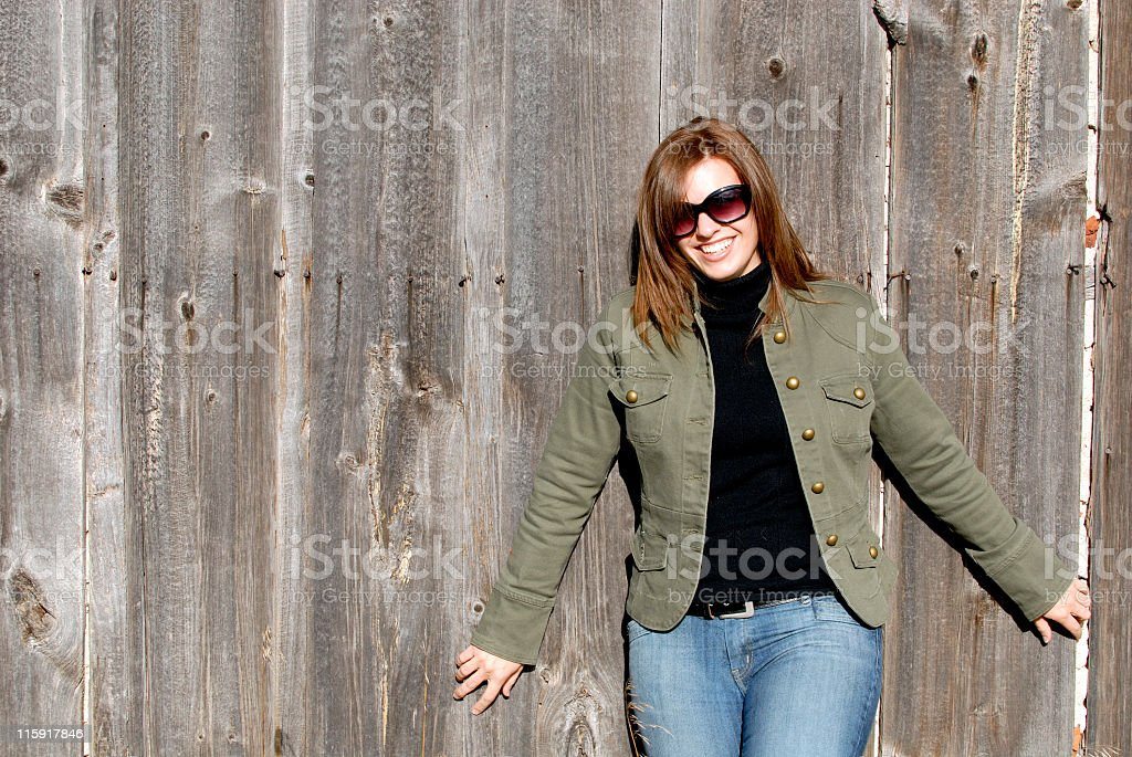 Country Girl 2 stock photo