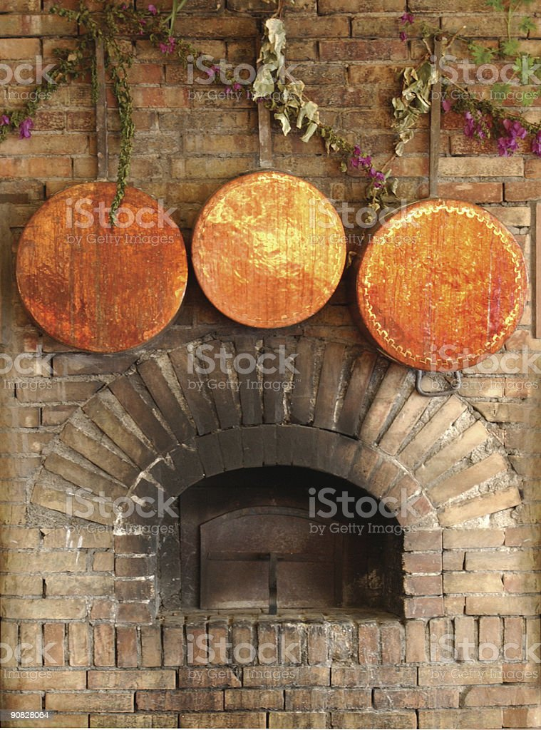 country hearth royalty-free stock photo