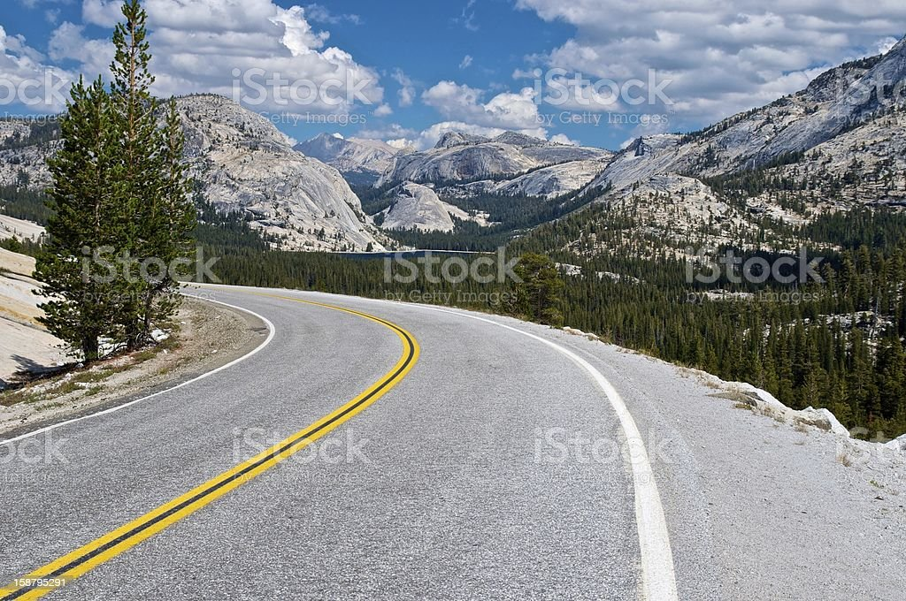 Country Highway - Utah, USA royalty-free stock photo