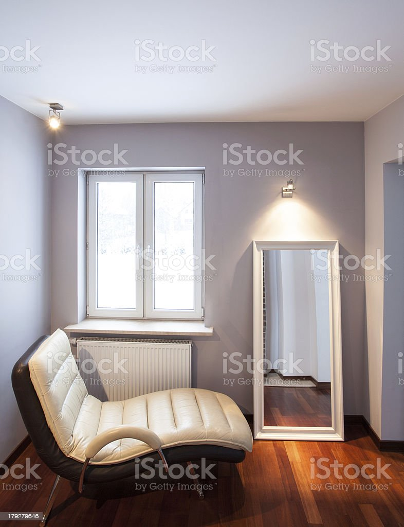 Country home - chaise lounge royalty-free stock photo