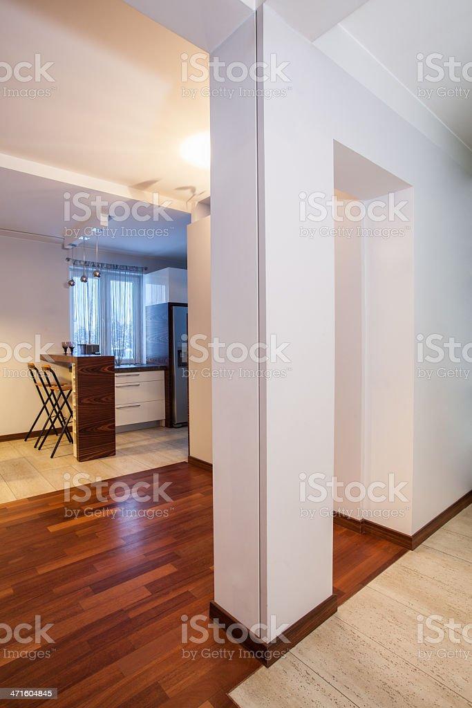 Country home - corridor royalty-free stock photo