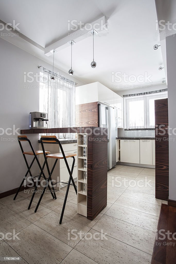Country home - Kitchen countertop royalty-free stock photo