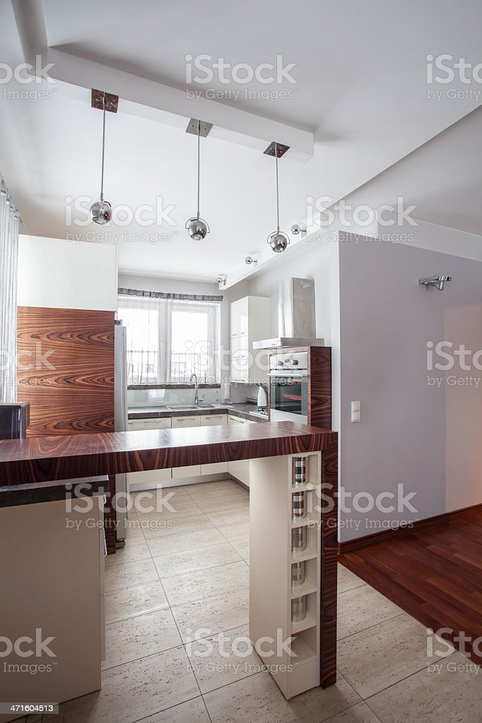Country home - Kitchen interior royalty-free stock photo