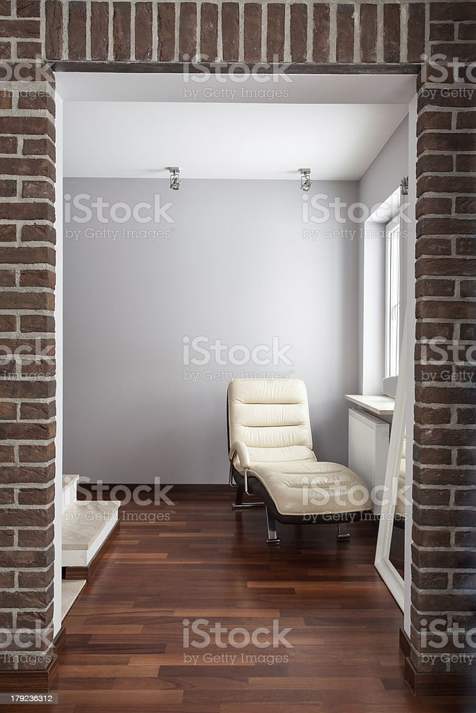 Country home - passage royalty-free stock photo