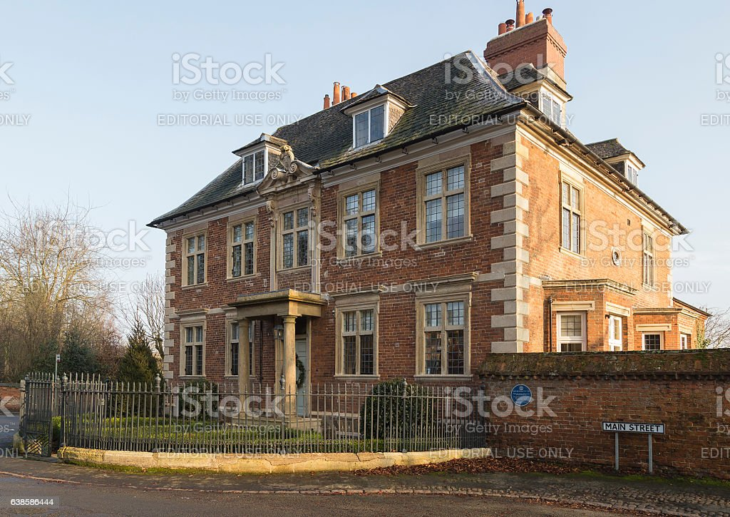Country Home stock photo