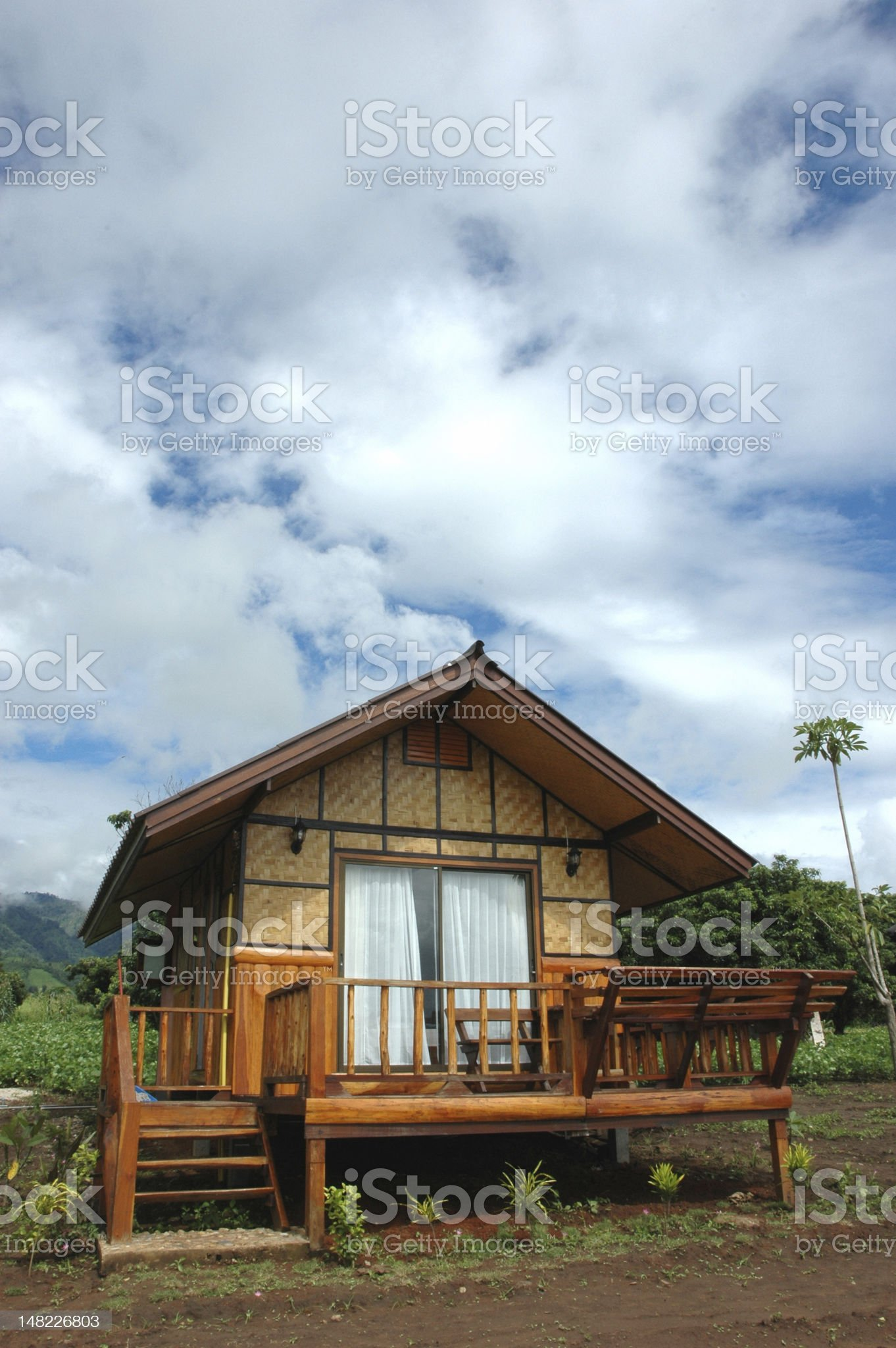 Country Home Single royalty-free stock photo