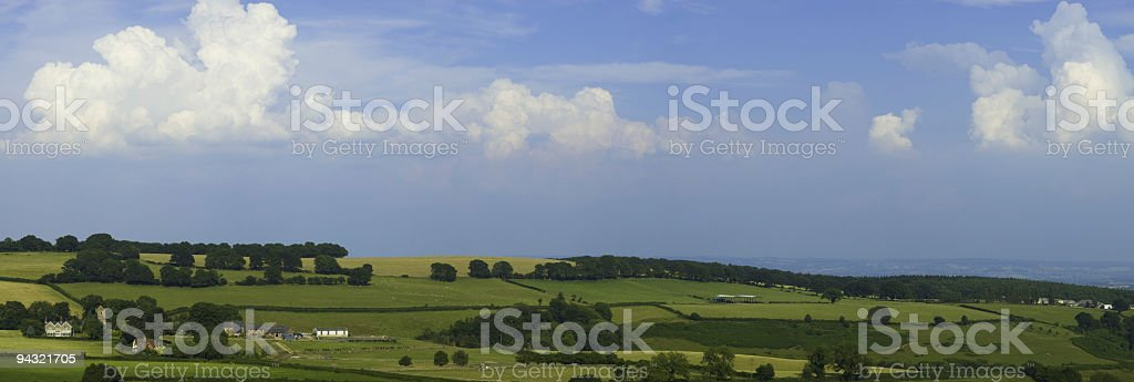Country horizon royalty-free stock photo