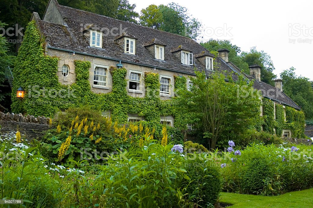 Country hotel stock photo