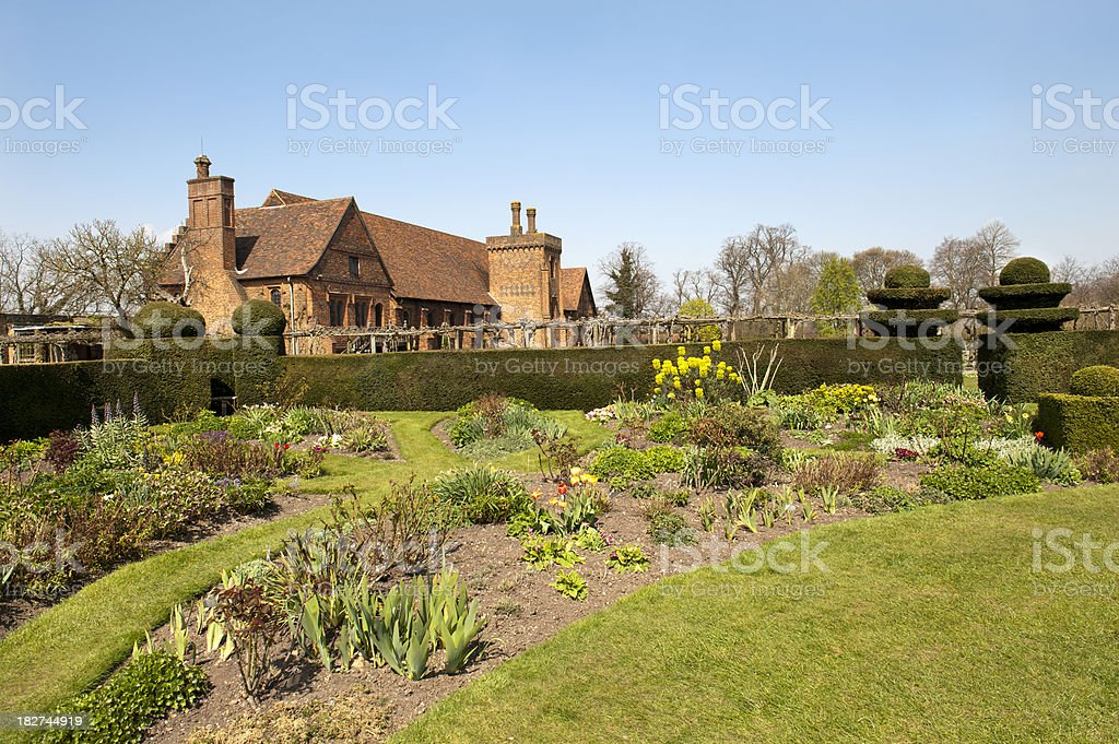 Country House Gardens royalty-free stock photo